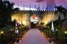 Dance the night away @Imagine disco which is located in a huge cave in Punta Cana.