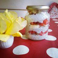 Chia Triffle Pudding, Jar, Desserts, Blog, Decor, Rezepte, Tailgate Desserts, Puddings, Dessert