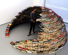 This is a tower of books for my girls carolyn ramsey and Cassie norton
