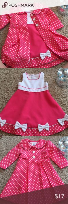 ** Host Pick** Toddler Dress with Matching Coat Gorgeous dress and coat set.