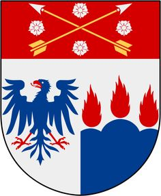 Coat of arms of the county of Örebro, Sweden