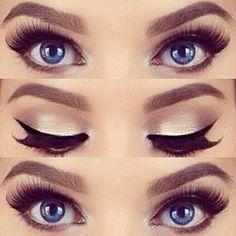 Gorgeous Makeup: Tips and Tricks With Eye Makeup and Eyeshadow – Makeup Design Ideas Makeup Up, Blue Eye Makeup, Eye Makeup Tips, Smokey Eye Makeup, Makeup Tools, Makeup Ideas, Makeup Hacks, Makeup Tutorials, Makeup Brushes