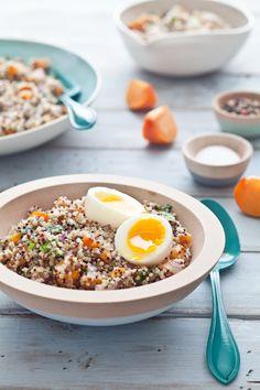 Persimon Quinoa Salad