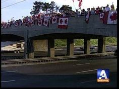 Highway of Heroes. My true North Strong and Free. Lush Canada, True North, Pride, Strong