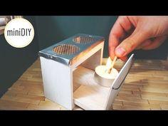 Miniature Kitchen Stove that works! // DIY dollhouse - miniDIY - YouTube