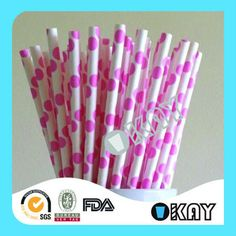 Stock 250 items Birthday Party Decoration 50 years Party Straws