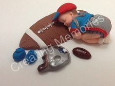 Patriots Fondant Baby Baby Cake Topper by anafeke on Etsy, $17.00