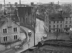 Commerce Street junction with Fish Street church circa 1930s
