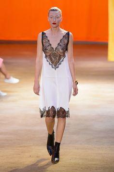 Spring 2016 Trends | Runway | Lingerie By Day | Céline Spring 2016 | POPSUGAR Fashion