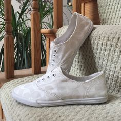 Coach Shoes 7 Coach Shoes. Size 7  These are in excellent condition. Will ship with box. Coach Shoes Sneakers