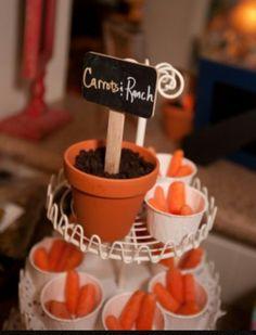 Carrots and Ranch Bunny Birthday