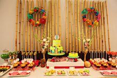 fiesta hawaiana comida - Buscar con Google