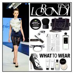 """Tina Lobondi 4"" by gaby-mil ❤ liked on Polyvore featuring Tina Lobondi, Dolce&Gabbana, Chanel, Bobbi Brown Cosmetics, Serge Lutens, NARS Cosmetics, Fallon, designer and tinalobondi"