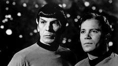 Leonard Nimoy and William Shatner, in 'Star Trek' -- 1968