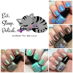 April Showers Bring May Showers Spring 2014 Collection by Eat. Sleep. Polish