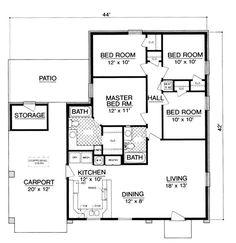 24x40 3 bedroom 960sqft   House design ideas   Pinterest   Bedrooms on 16x36 house, full basement on ranch house, 12x28 house, 8x16 house, 2x4 house, 26x40 house, 16x30 house, 24x36 house, 20x36 house, 12x36 house, 40x40 house, 16x32 house, 30x40 house, 20x60 house, 14x14 house, 20x24 house, 14x28 house, 30x50 house, 24x48 house, 24x28 house,