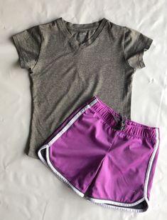 635bdd3b55727 Old Navy Champion C9 Girls Athletic Shirt And Shorts Sz 6 7 outfit   ChampionOldNavy