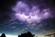 Wicked Mammatus Nebraska Lightening