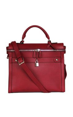 27da1f6a13 Wine Square Tote II by Angela   Roi  160.00 . Classic is the best way to
