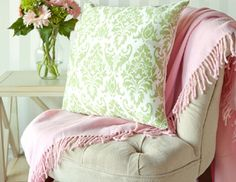 I pinned this from the Pink & Green - Add a Preppy Pop with Accents, Lamps, Pillows & More event at Joss and Main!