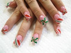xmas candy 2 by Oli123 - Nail Art Gallery nailartgallery.nailsmag.com by Nails Magazine www.nailsmag.com #nailart