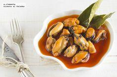 Mejillones en escabeche de vinagre de sidra http://www.directoalpaladar.com/recetas-de-aperitivos/mejillones-en-escabeche-de-vinagre-de-sidra-receta