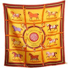 Hermes Couvertures et Tenues de Jour silk twill scarf price online outlet wholesale discount