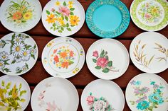 Melmac plates. We had the wheat pattern. Though advertised as unbreakable, they were apparently lose-able, because all I remember us having was the plates. And just to make it even more 70's, my hippie Dad steamed some Tiger Lilys and we had them for dinner one night. They tasted like okra, and they stained the plates blue. Forever.