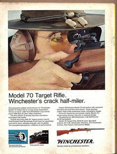 Winchester Firearms, Winchester Model 70, Black Powder Guns, Rifle Targets, Safe Room, Random Access, Advertising, Pistols, Rifles