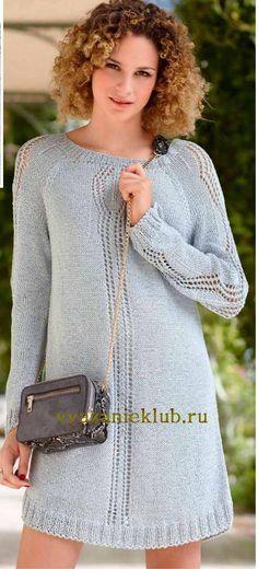 Платье для женщин - Вязание спицами для женщин - Каталог файлов - Вязание для детей