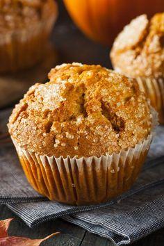 homemade simple pumpkin muffin