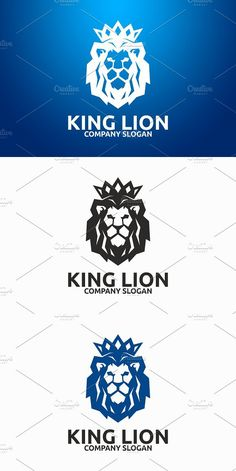 Logo Template Features AI and EPS (Illustrator 10 EPS) CMYK Scalable Vector Files Easy to edit color / text Ready to print Font information at the Lion Forearm Tattoos, Lion Head Tattoos, Print Fonts, Print Logo, Lion Tattoo Design, Tattoo Designs, Lion Paw, Lion Logo, Animal Logo