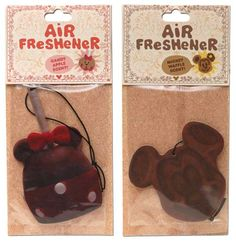 Disney has developed four new car air freshener scents. They are based on the smells of different Disney food items! There is a candy apple, a Mickey waffle, a turkey leg and a Mickey ice cream bar. These are sold in the park-- True story. Disney Parks, Disney Souvenirs, Disney Food, Disney Vacations, Walt Disney, Disney Theme, Disneyland Food, Disney Gift, Disney Ideas