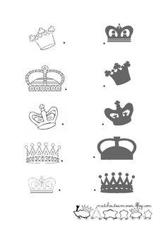 schaduw zoeken met kleuters / relie-ombre-couronne