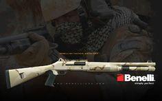 Benelli M4 Shotgun - yes please!