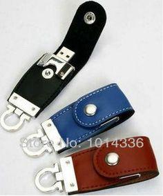 leather metal car key USB Flash Drive Memory Card Stick Thumb/Car/Pendrive Key U Disk/creative Gift 2GB 4GB 8GB 16GB 32GB //Price: $0.00//     #onlineshop