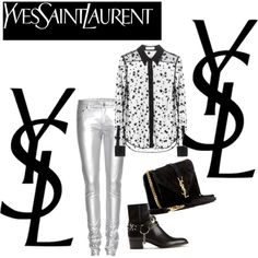woman rock by all YSL
