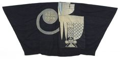 Agbada (Man's Robe) of the Yoruba Peoples, Nigeria (1st half 20th cent). Cotton & silk, strip weave & embroidery, 55 x 117 in. via Andres Moraga Textile Art