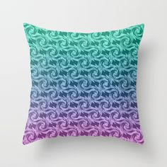 Buy Pink turquoise Ombre Throw Pillow by temas14mk. Worldwide shipping available at Society6.com. Just one of millions of high quality products available.