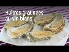 Recette des huîtres gratinées au vin blanc