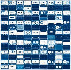 Cassette Tape Cyanotypes