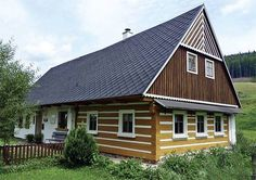 chalupa Cottages, Countryside, Shed, Outdoor Structures, Cabin, House Styles, Houses, Group, Beautiful