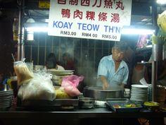Malesia street food: Penang