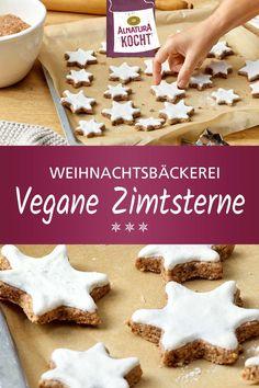 Vegan Christmas Cookies, Christmas Baking, Vegan Baby, Kochi, Vegan Sweets, Cakes And More, Going Vegan, Vegan Recipes, Yummy Food