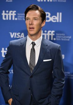 Benedict Cumberbatch. Please don't make that face. Unnfff.