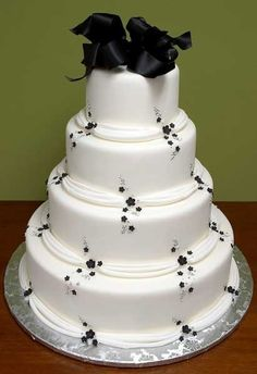 simple wedding cakes pictures