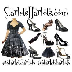 Rockabilly Pin Up Clothing! #starletsharlots #fashion #pinup #vintage #1950s #rockabilly #love #happy #holiday