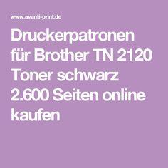 Druckerpatronen für Brother TN 2120 Toner schwarz 2.600 Seiten online kaufen