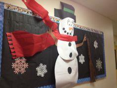 Winter Bulletin Board courtesy of the fabulous Ms. Ali Navarra