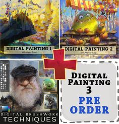 Full Digital Painting Package Packaging, Digital, Painting, Art, Art Background, Painting Art, Kunst, Paintings, Wrapping